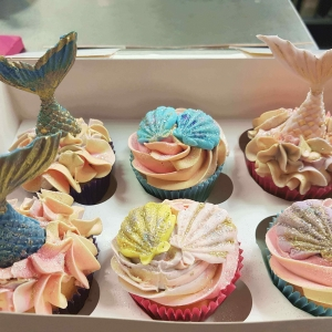 Mermaid Mixed Cupcakes