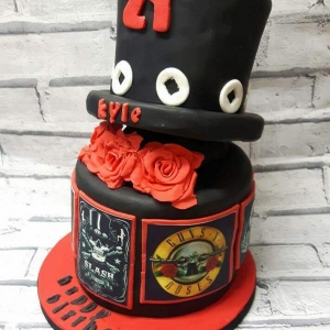Rock & Slash Cake